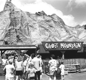Frontier City has followed a Western theme, with train robberies, shootouts and park rides with names like Ghost Mountain, Silver Bullet and Steel Lasso.