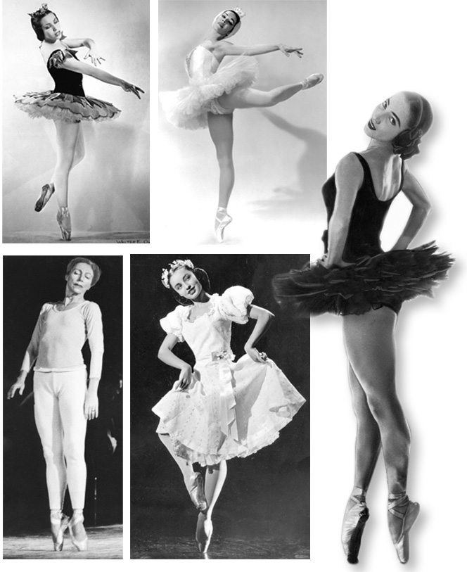 Clockwise, from top left: Oklahoma's five Indian ballerinas are Maria Tallchief, Marjorie Tallchief, Yvonne Chouteau, Moscelyne Larkin and Rosella Hightower. The Oklahoman Archive