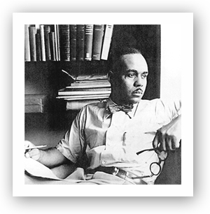 Oklahoma author Ralph Ellison.