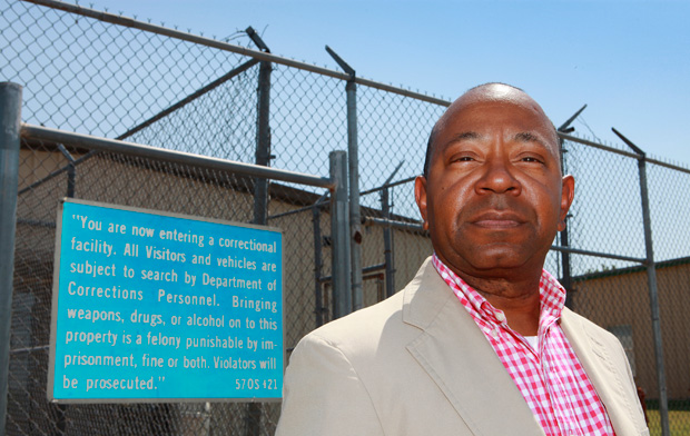 Currie Ballard, Oklahoma Pardon and Parole Board member, at the Hillside Community Corrections Center. While many of Ballard's family were at one time behind prison walls, Ballard never followed that path.