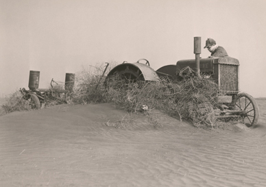 dust bowl farmers from Oklahoma