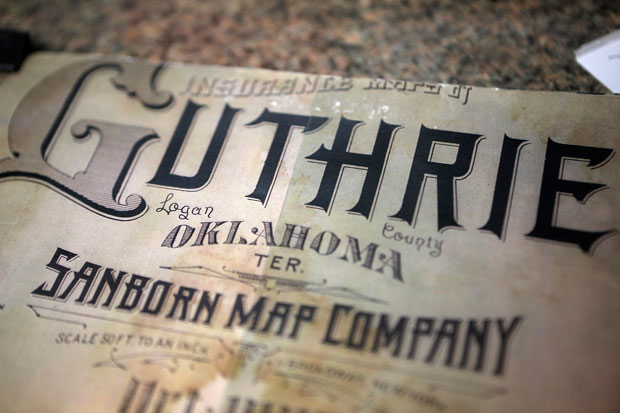 There were no signs of underground tunnels on Guthrie's documents. But, if the tunnels were a secret, why would they have been shown?
