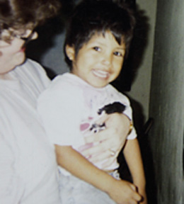 Young Miguel Rayos, shown here in an undated photo, became part of the Saturday Bible Club offered by City Rescue Mission volunteers like Sally Goin