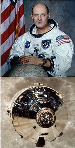 Astronaut Thomas Stafford from Apollo X