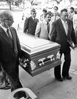 Father Stanley Rother's funeral in Okarche