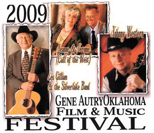 poster for the 2009 Gene Autry Music and Film festival