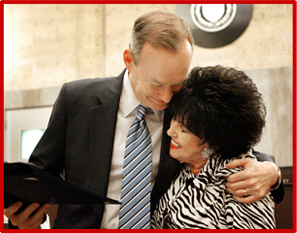 Wanda Jackson with Mayor Mick Cornett