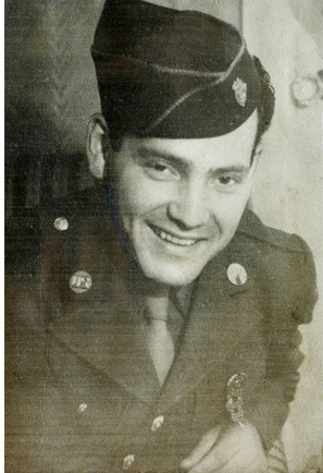 Art Levine was a member of the 101st Airborne Division and was a paratrooper during the D-Day invasion. After the war ended, he chose to stay in the army spending several years with Allied forces who occupied Germany.