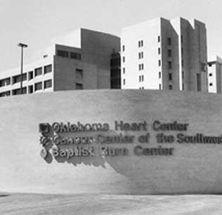 baptist hospital, 1980's