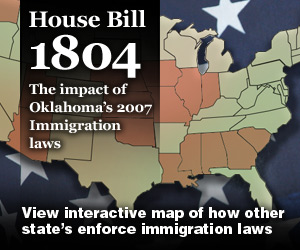 immigration laws in the U.S. rollover map