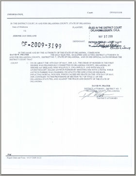 probable cause affidavit