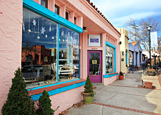Modern Paseo neighborhood