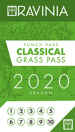 Ravinia Lawn Punch Pass