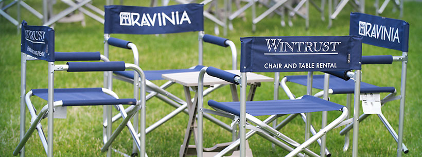 Ravinia Chair Rental