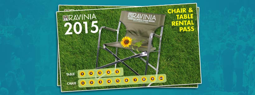 Camping World Chair and Table Rental Pass 10-Punch Pass