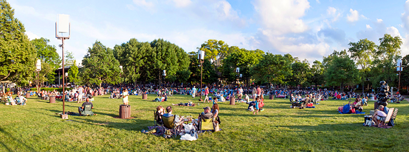 Ravinia Festival Official Site Venues The Lawn