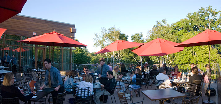Ravinia Terrace Seating