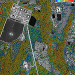 Satellite Photos for Oil and Gas Production
