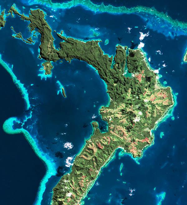 Spot 7 Satellite Image Fiji Satellite Imaging Corp