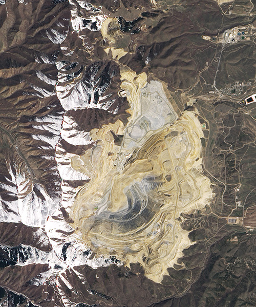 Bingham Canyon Mine Landslide