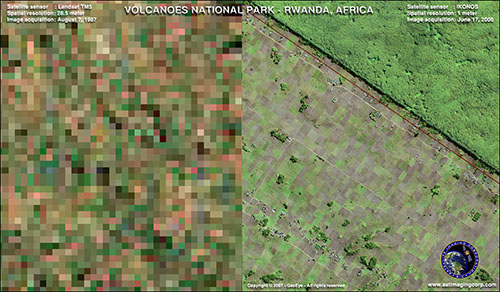 LANDSAT Image Comparison