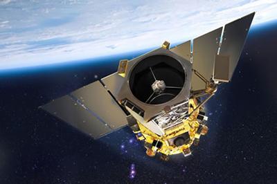 GeoEye-1 Satellite Sensor