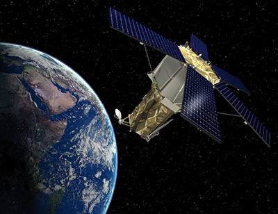 GeoEye-2 Satellite Sensor