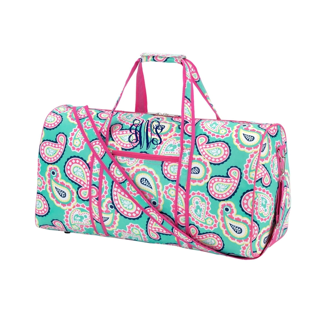 Personalized monogrammed quot duffle gym sports bag girls