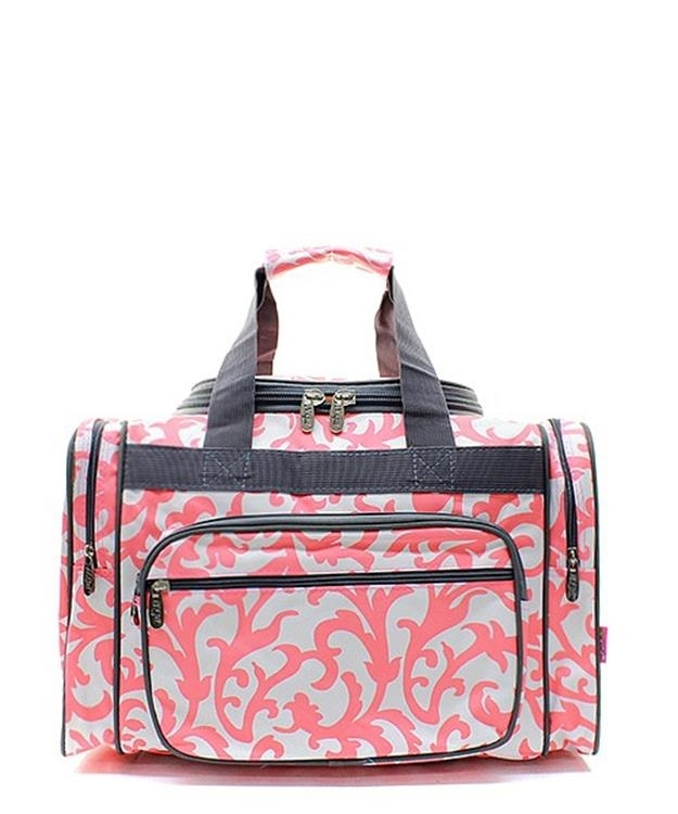 large 20 duffle gym tote bag carry on overnight sports kids girls womens ladies ebay. Black Bedroom Furniture Sets. Home Design Ideas