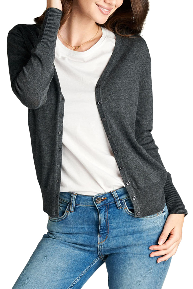 We offer all styles and sillhouettes of sweaters at Kohl's, including cardigans for juniors. We also feature all the colors she needs to properly coordinate, like white sweaters for juniors and gray sweaters for juniors.