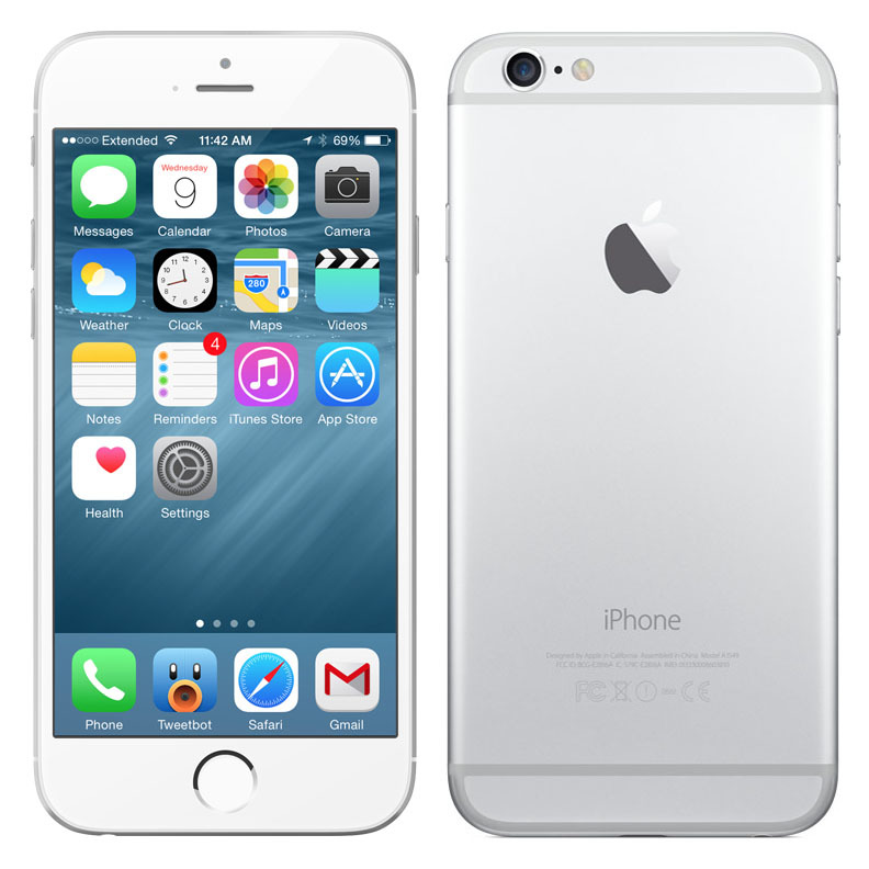 apple iphone 5s 16gb 32gb 64gb at t space gray silver. Black Bedroom Furniture Sets. Home Design Ideas