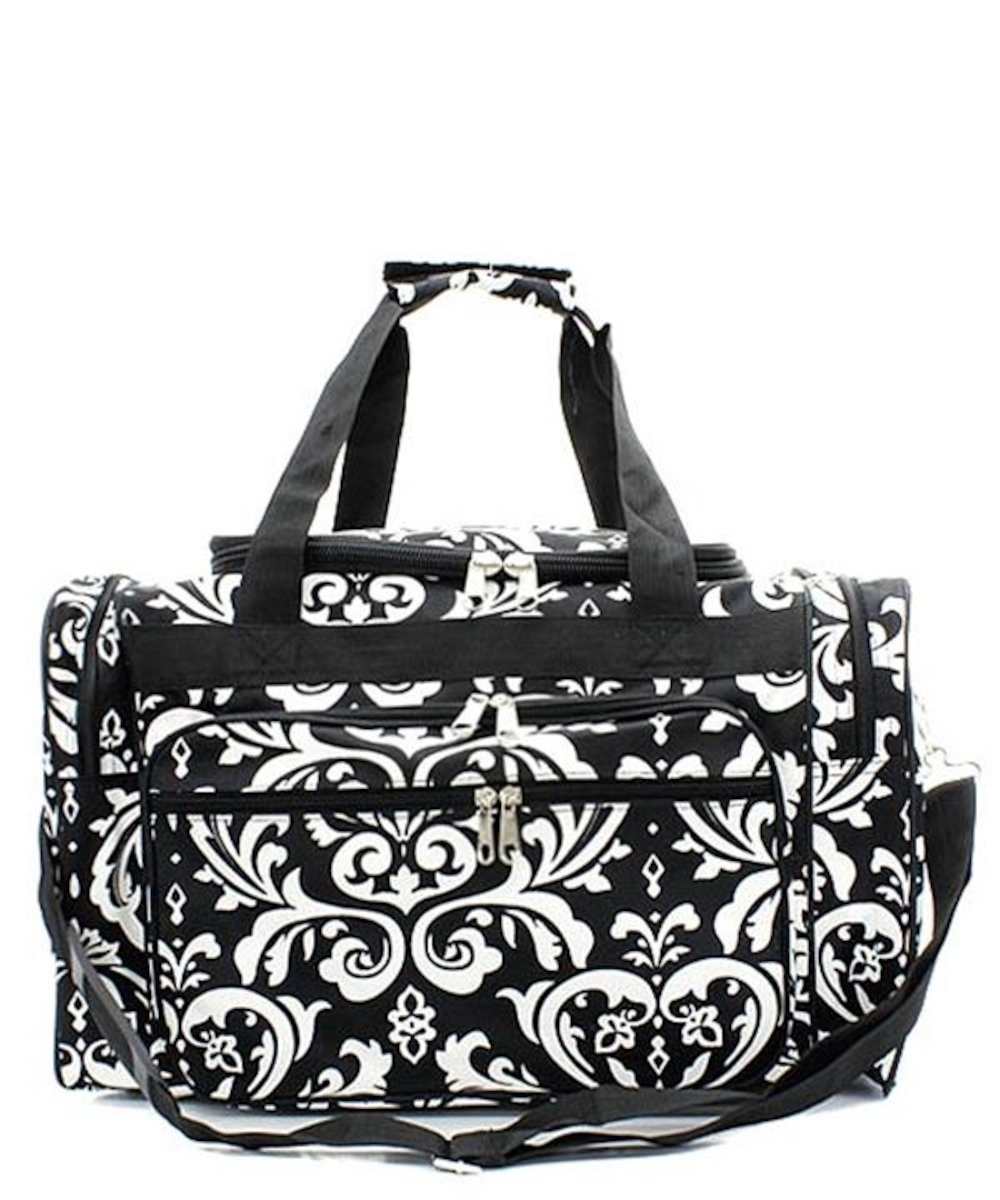 large 20 duffle gym tote bag carry on overnight sports kids girls womens ladies. Black Bedroom Furniture Sets. Home Design Ideas