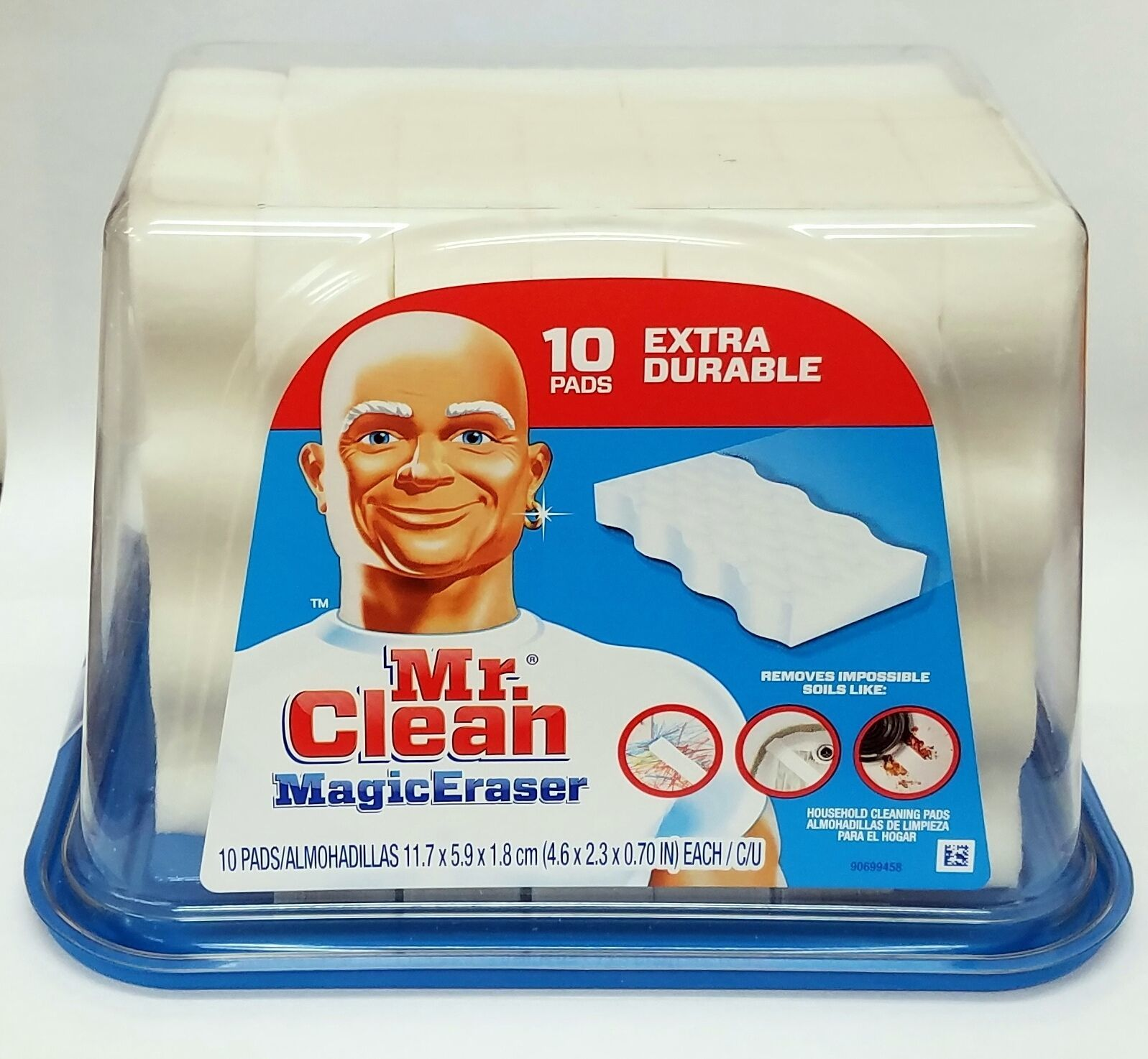 mr clean magic erasers extra durable household cleaning pads 10 count ebay. Black Bedroom Furniture Sets. Home Design Ideas