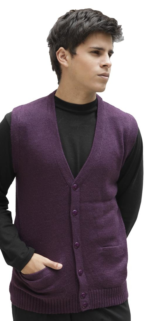 Men's Sweater Vest with Buttons - Reviews Our Men's Wool Waistcoat is a solid color Wool Sweater Vest, which can be fashioned a number of different ways. We suggest pairing with your favourite pair of jeans and a shirt in a complementing colour.