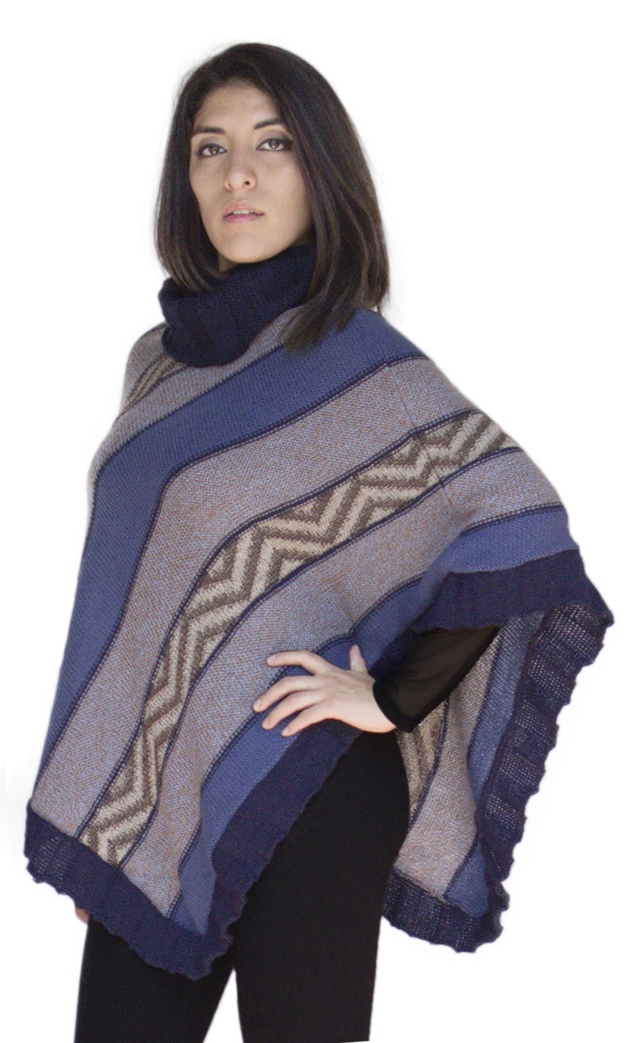 Womens Sweater Poncho