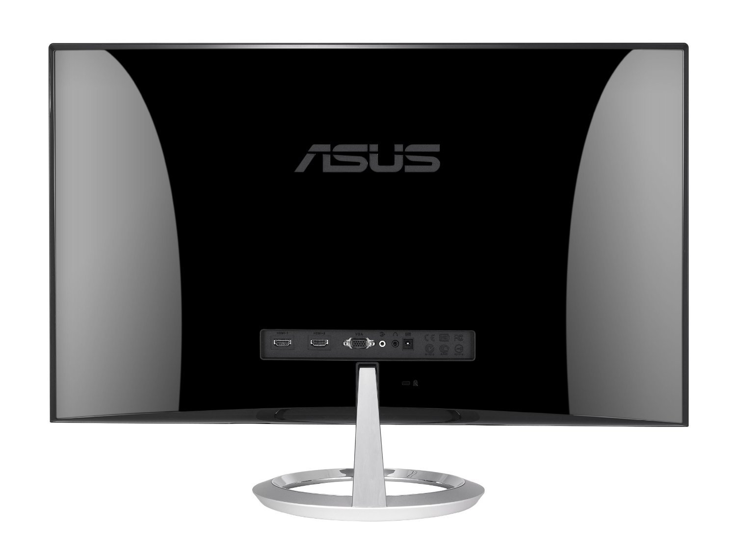 Asus Mx279h 27 Quot Widescreen Led Backlit Lcd Monitor Silver