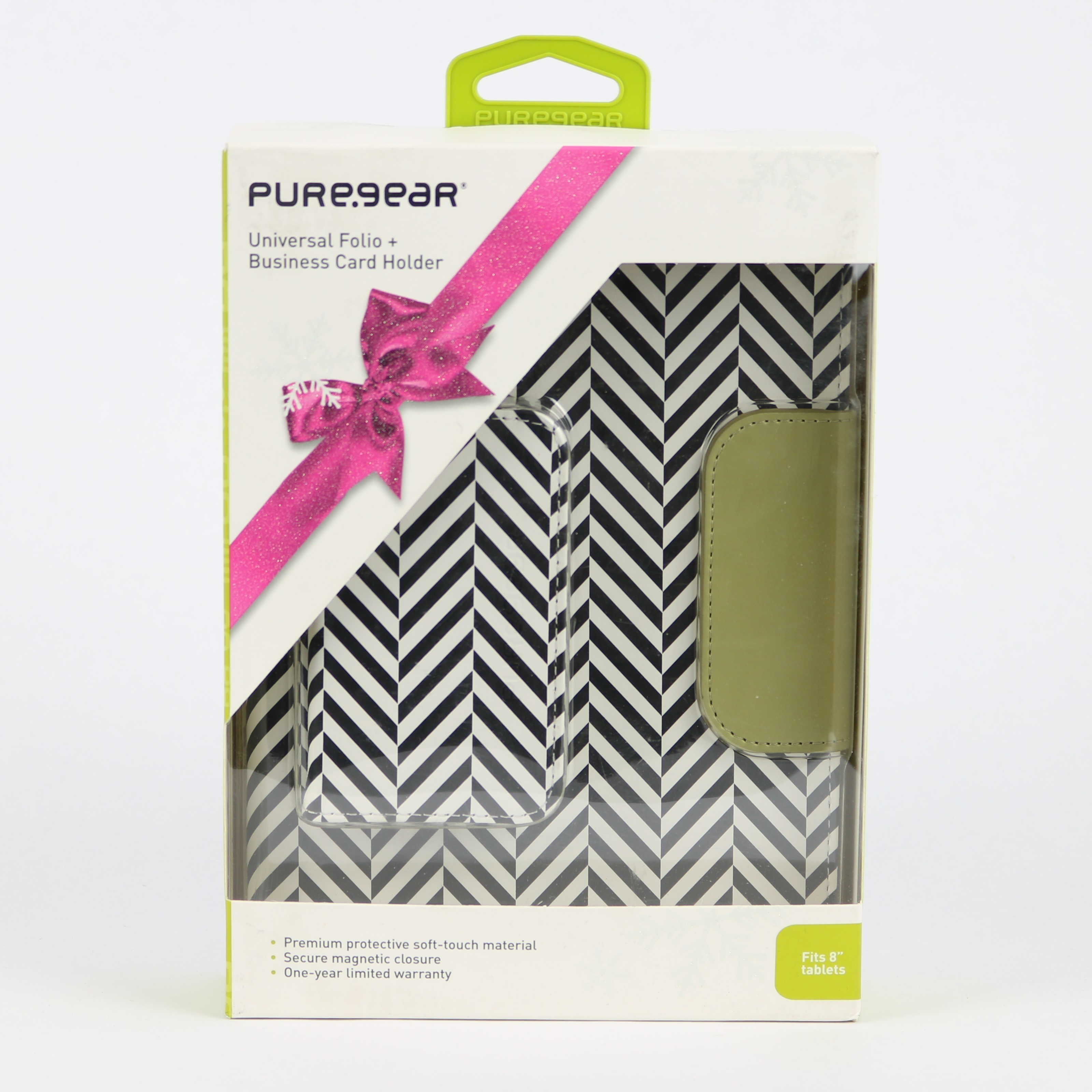 Puregear Universal 8 inch Tablet Folio and Business card holder ...