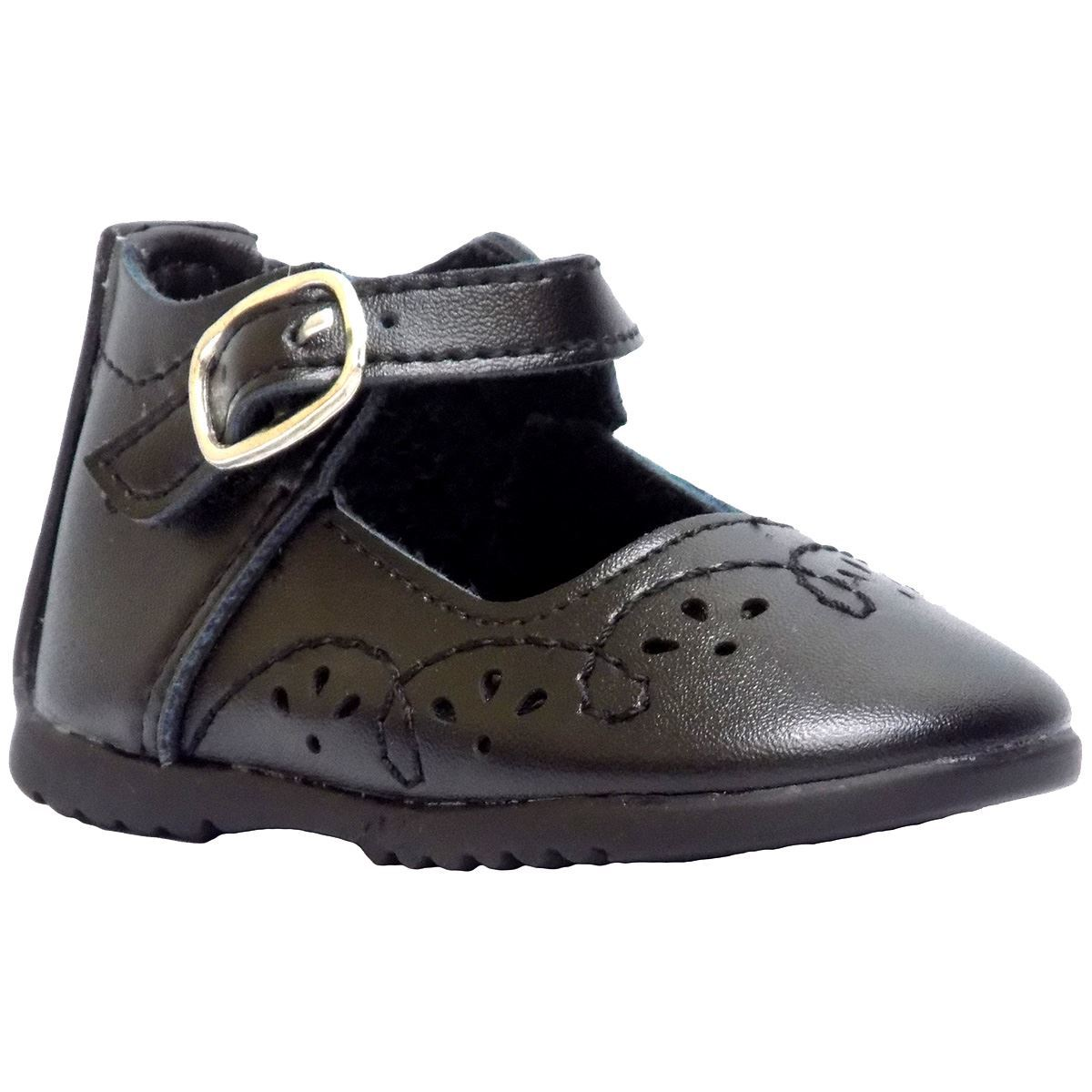 Toddler Black Patent Leather Mary Jane Shoes
