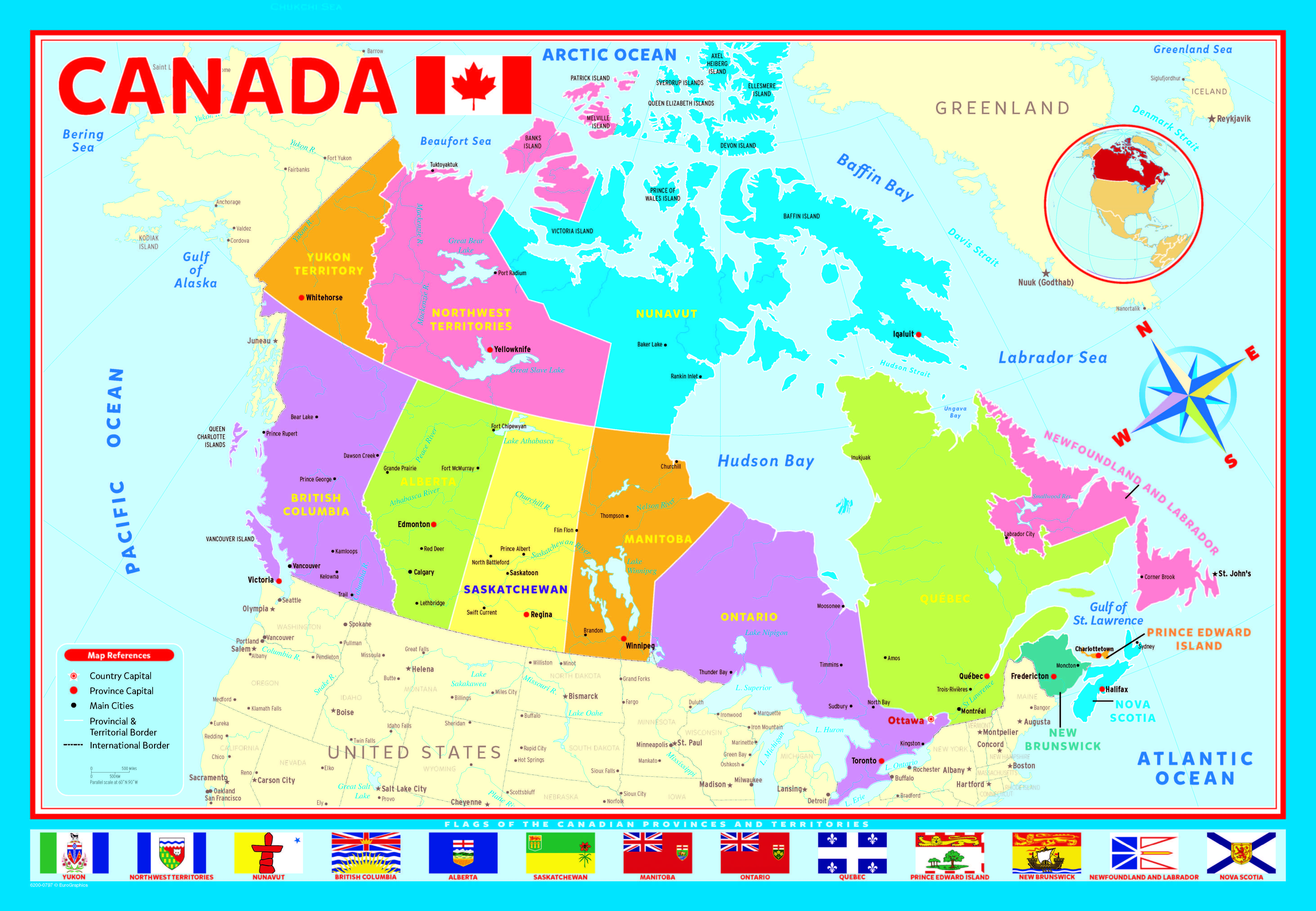 Map Of Canada Piece Kids Jigsaw Puzzle Age EBay - Capital of canada map