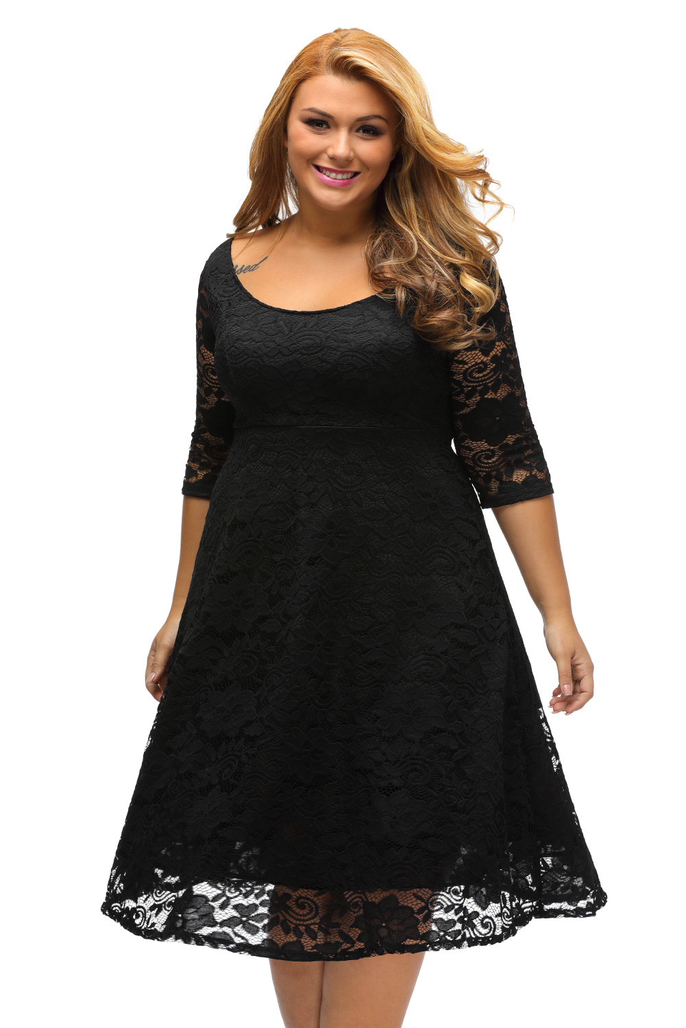 5x cheap black dresses