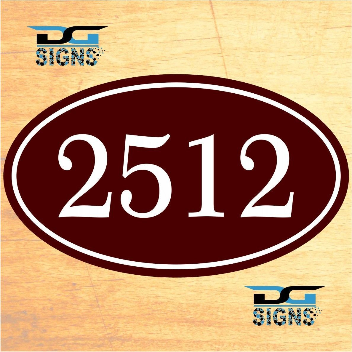 3012 personalized home address decorative custom plaque 12 x 7 aluminum sign ebay. Black Bedroom Furniture Sets. Home Design Ideas