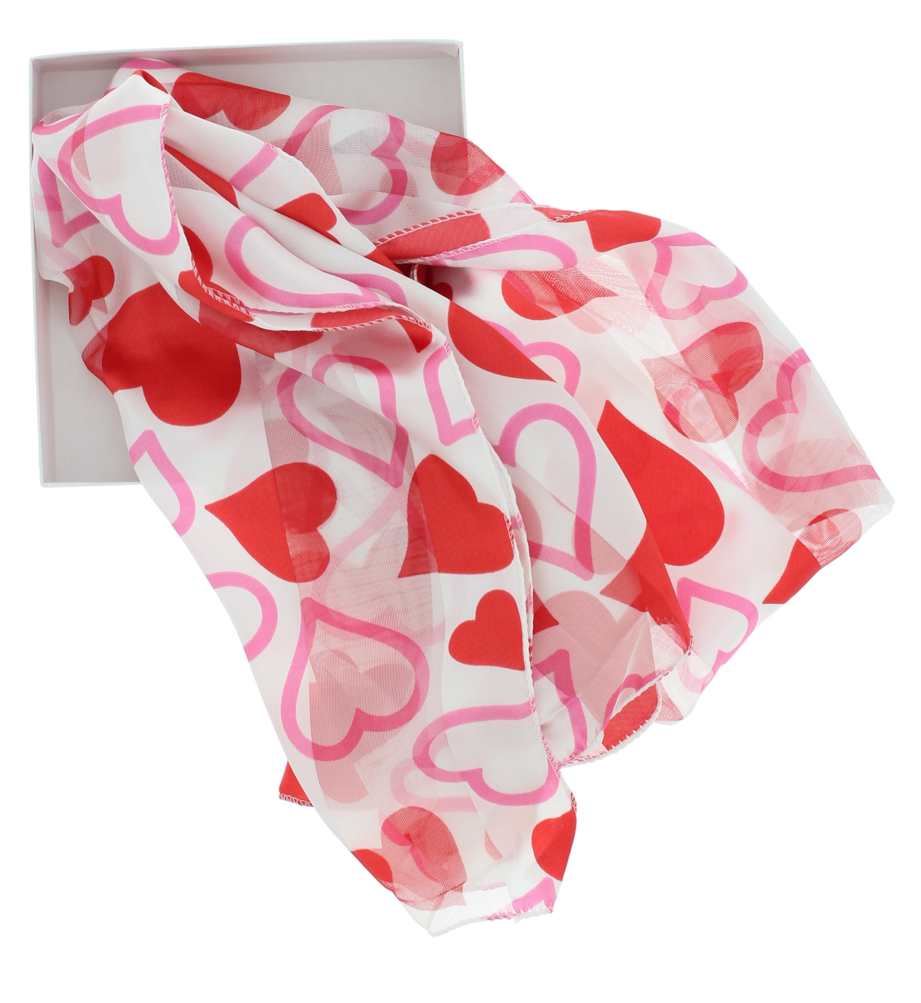 """12/""""x60/"""" Giftboxed Women/'s Silky Feel Classic Holiday Scarf"""