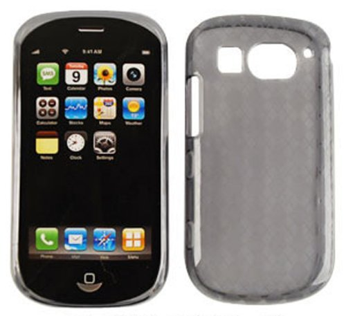 For Pantech Breakout 8995 Tpu010 Trans Smoke Cover Silicone Rubber Skin Case