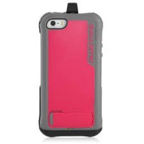 Ballistic EV0993-M115 Every1 Case for iPhone 5 - 1 Pack - Retail Packaging (Charcoal/Raspberry)