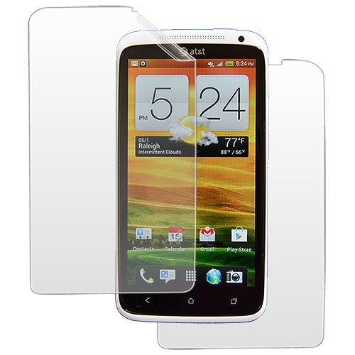 AT&T iFrogz Screen Protector Kit For HTC ONE X - Anti-Glare / Anti-Fingerprint - 2 Pack