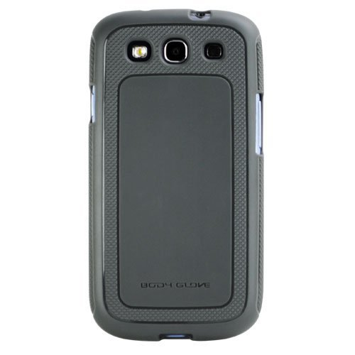 Body Glove Dimensions Duragel Case for Samsung Galaxy S III - Retail Packaging - Charcoal Grey