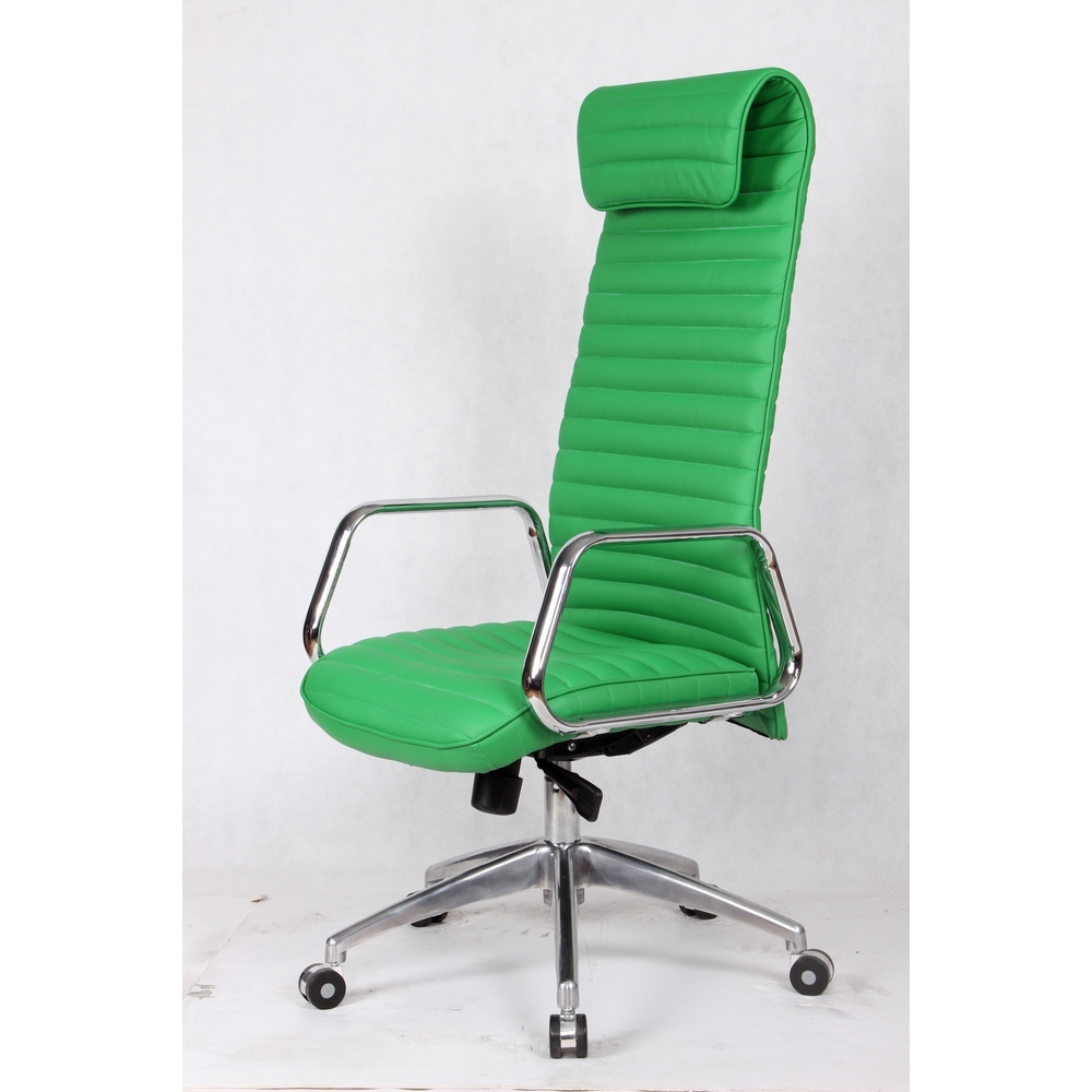 rolled high back office chairoffice chair green ebay
