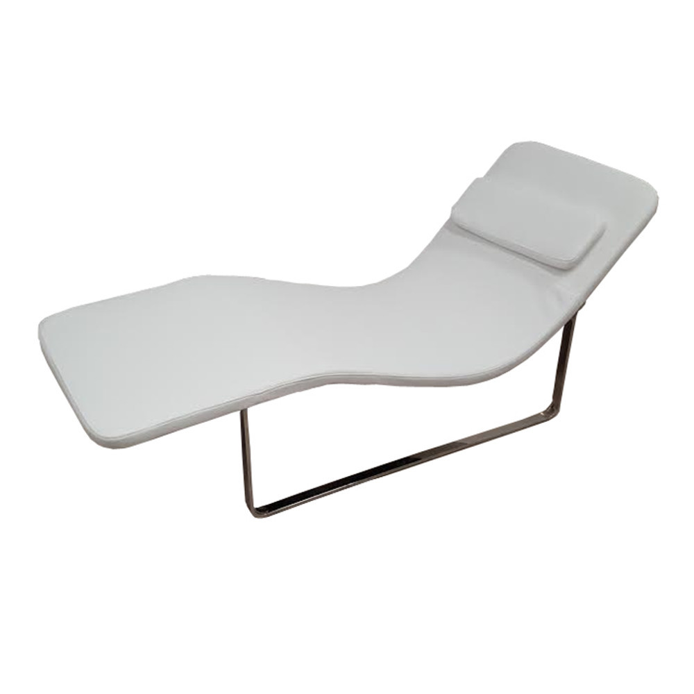 Longa modern chaise lounge chair white ebay for Chaise lounge contemporary