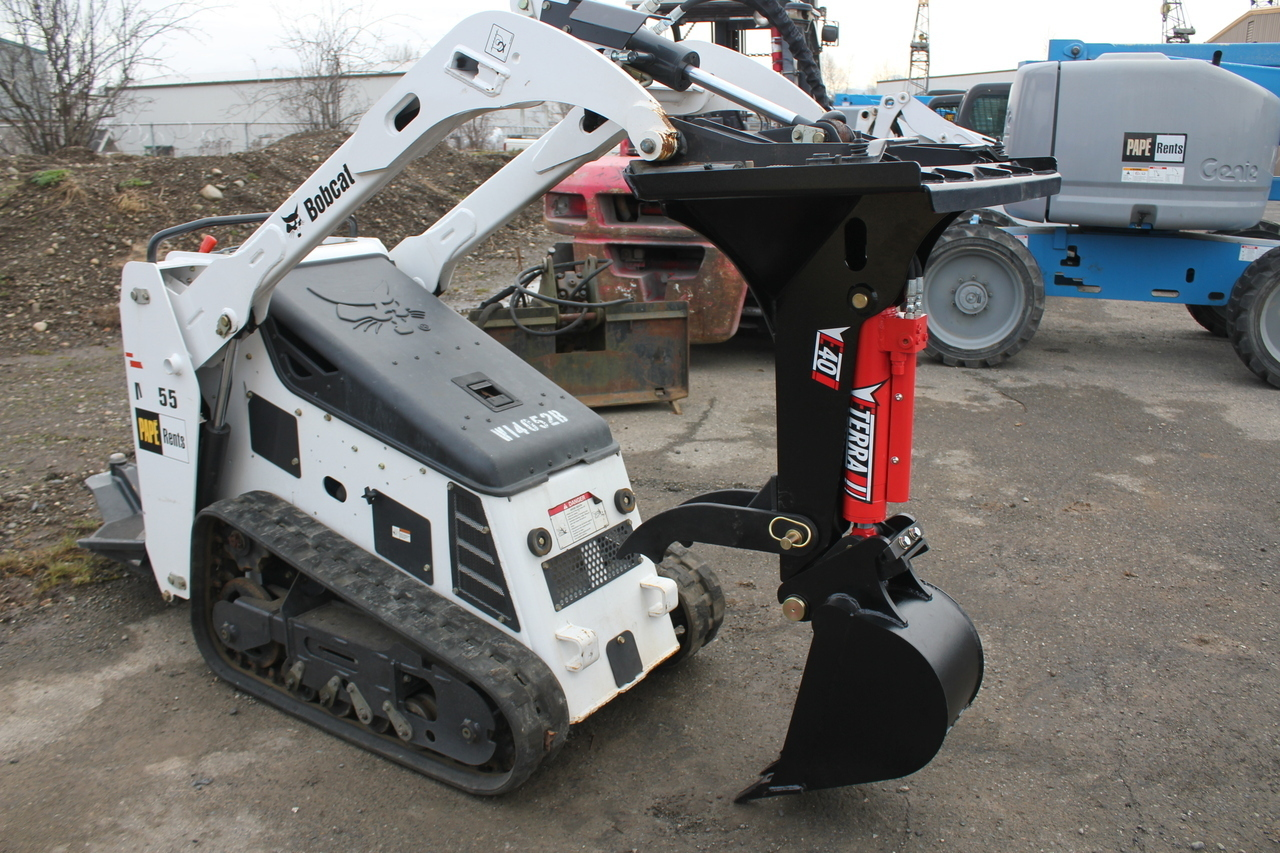 Backhoe For Bobcat Mt 50 52 55 Amp 463 Eterra E40 Mini