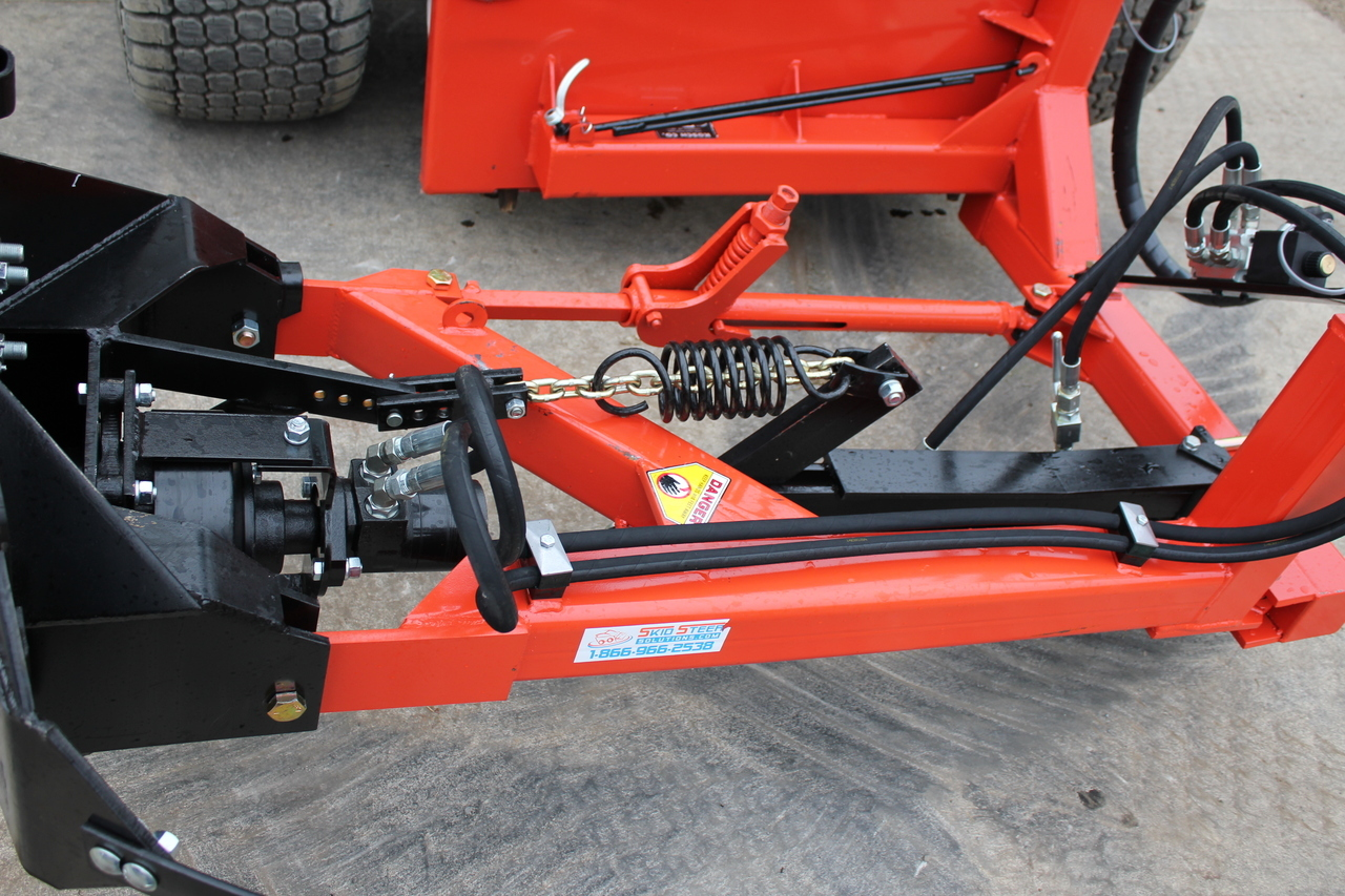 Tractor Steering Bar : Skid steer sickle bar mower eterra razor